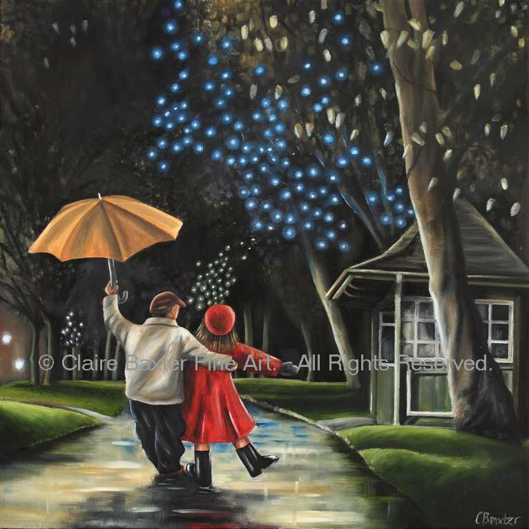 Dancing in the Rain Claire Baxter