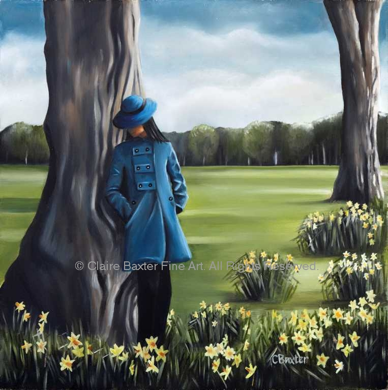The Messenger in Blue Claire Baxter